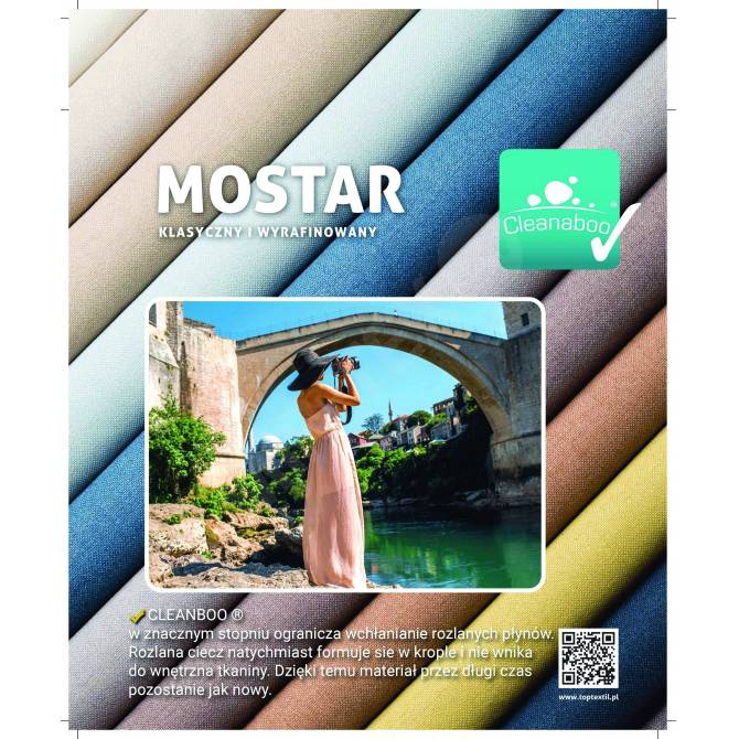 Kolekcja tkanin Mostar