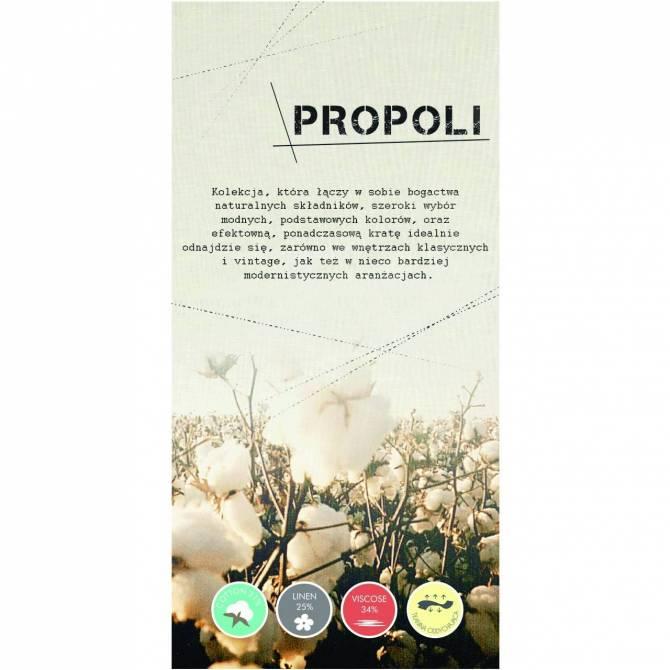 Kolekcja tkanin Propoli