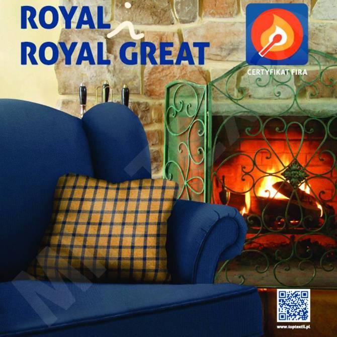 Kolekcja tkanin Royal Great