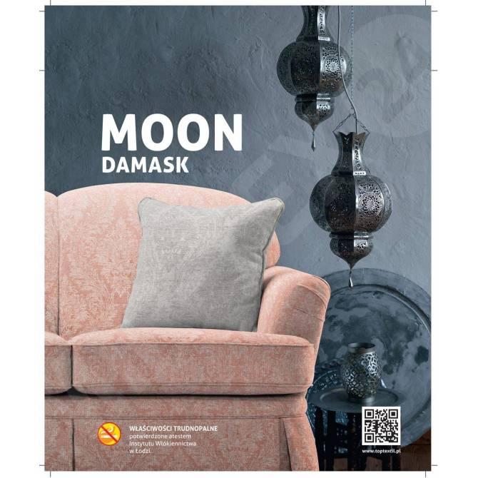 Kolekcja tkanin Moon Damask