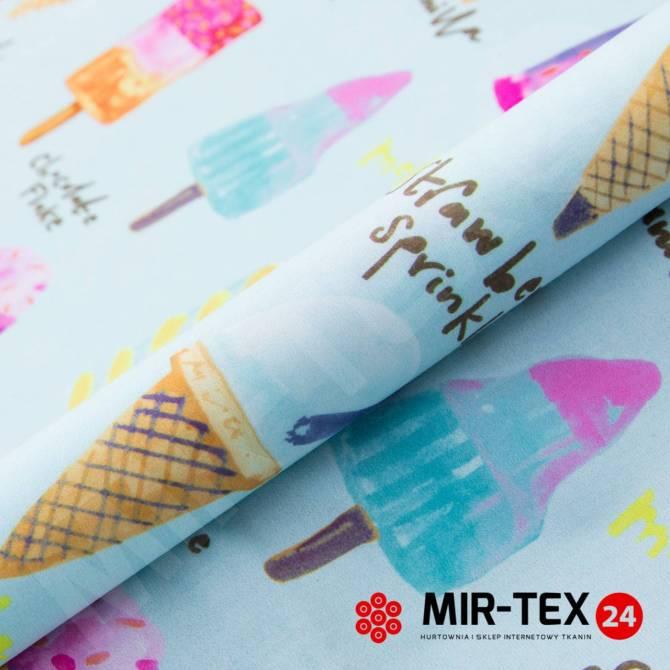 Kolekcja tkanin VIP Collection - Icecream 3
