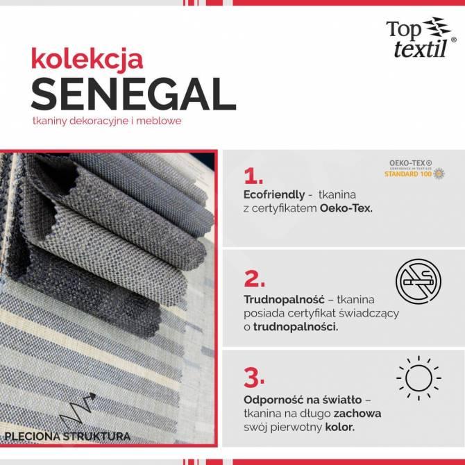 Kolekcja tkanin Senegal