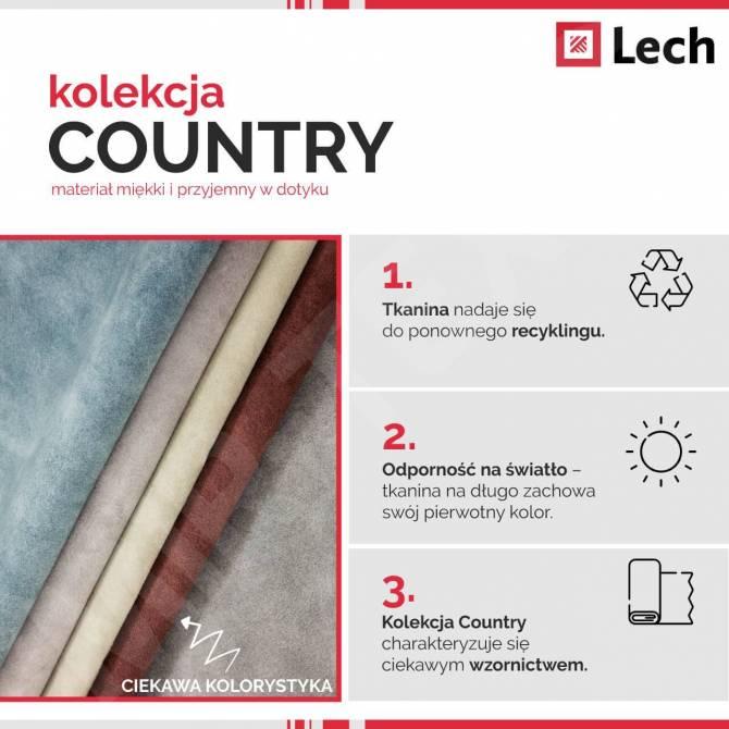 Kolekcja tkanin Country