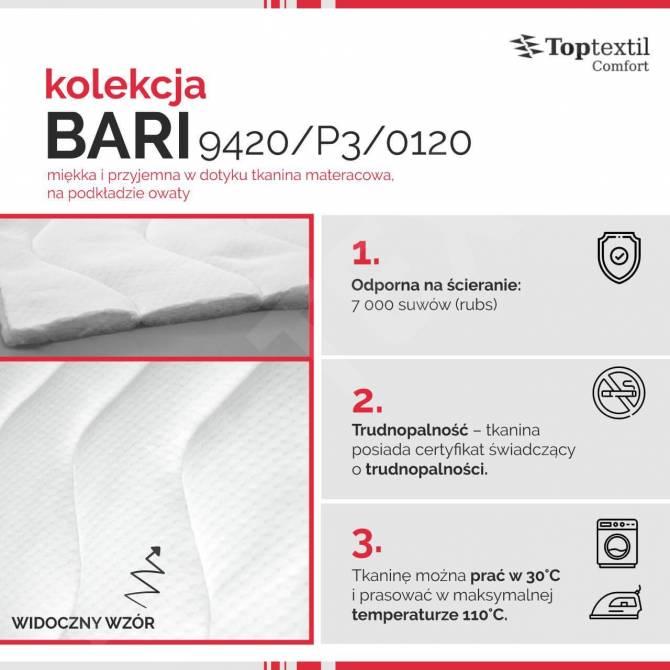 Kolekcja tkanin materacowych Bari