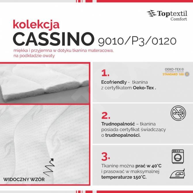 Kolekcja tkanin materacowych Cassino