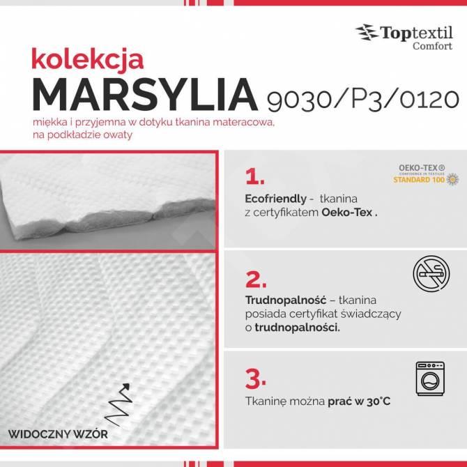 Kolekcja tkanin materacowych Marsylia