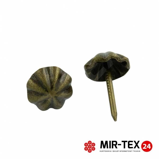Pinezka parasolka mosiądz 11 mm - 75 sztuk KP 4193