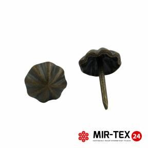 Pinezka parasolka ciemna miedź 11 mm - 75 sztuk KP 4195