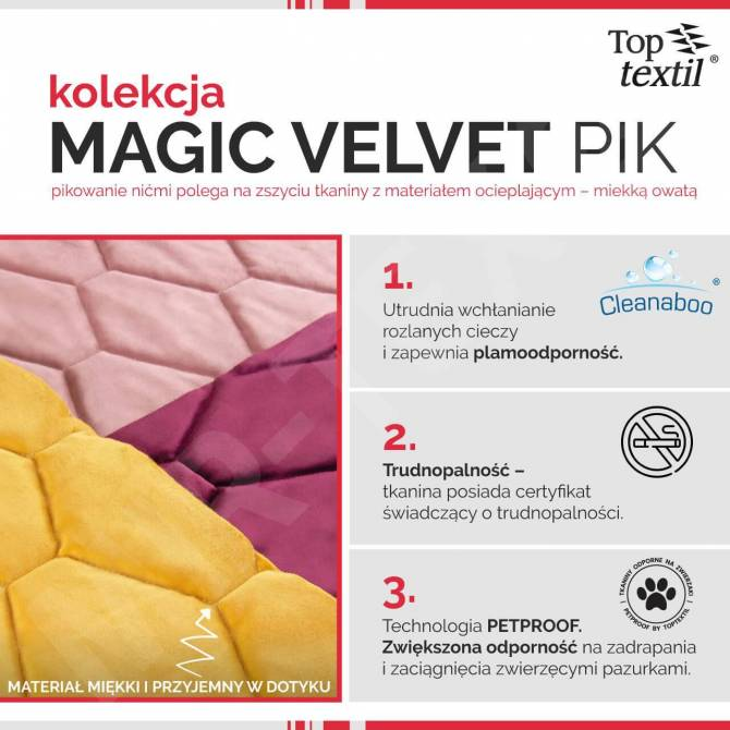Kolekcja tkanin Magic Velvet Pik