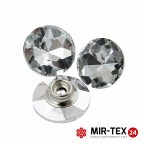 Guzik tapicerski - szklany typu nap KN 4520