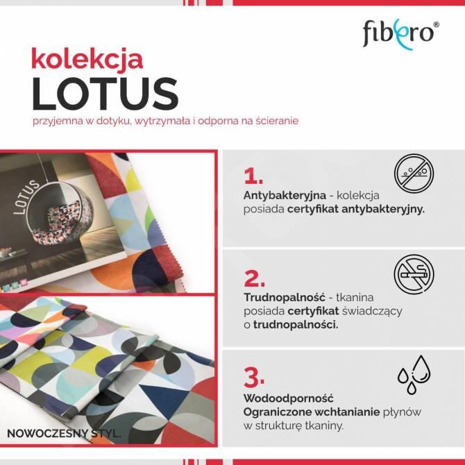 Kolekcja tkanin Lotus