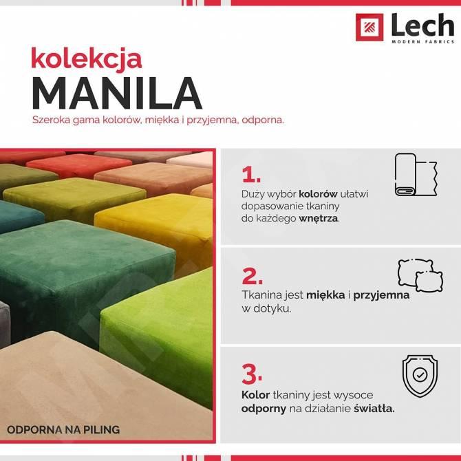 Kolekcja tkanin Manila