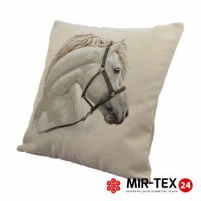 Poszewka dekoracyjna Biały koń 338