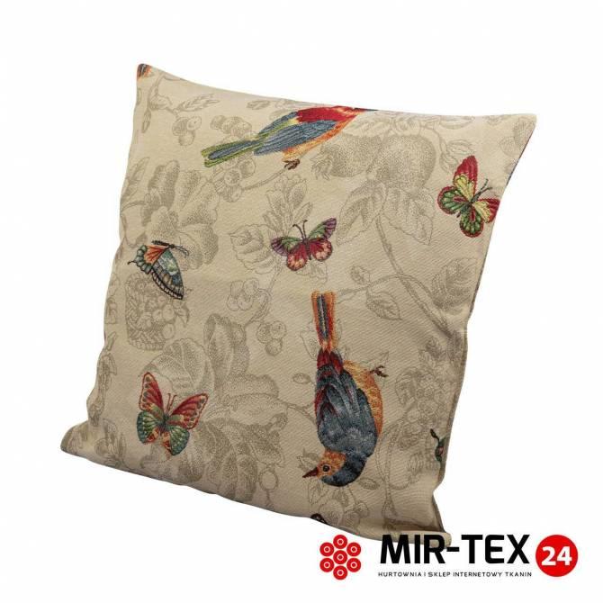 Poszewka na poduszkę Motyle i ptaki 308