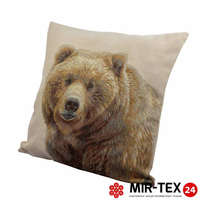 Poszewka na poduszkę Niedźwiedź 353