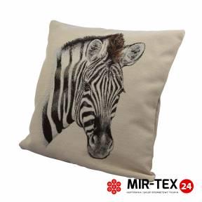 Poduszka mała 45x45 Zebra 341