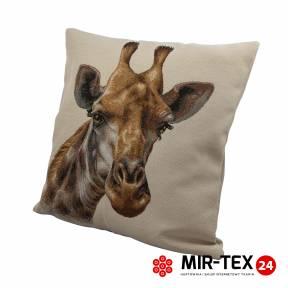 Poszewka na poduszkę z nadrukiem Żyrafa 339