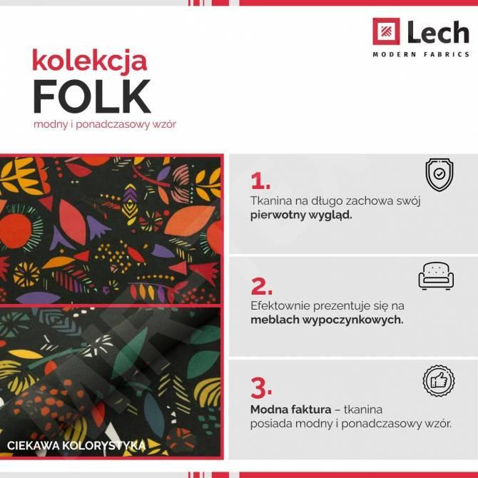 Kolekcja tkanin Folk