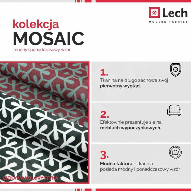 Kolekcja tkanin Mosaic