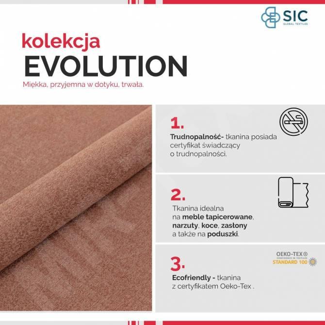 Kolekcja tkanin Evolution