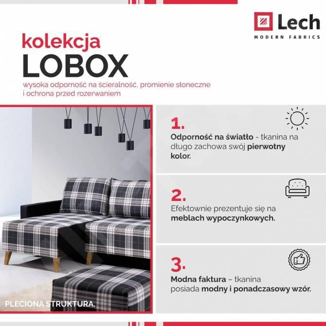 Kolekcja tkanin Lobox