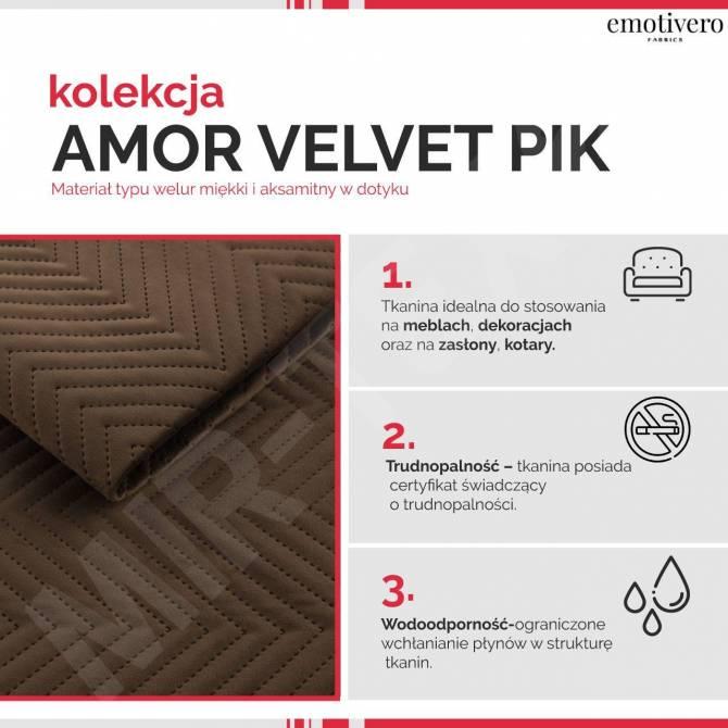 Kolekcja tkanin Amor Velvet