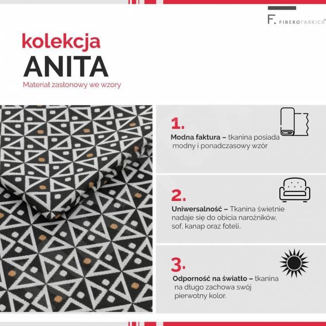 Kolekcja tkanin Anita