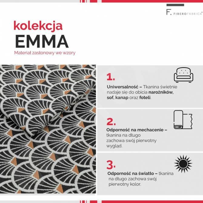 Kolekcja tkanin Emma