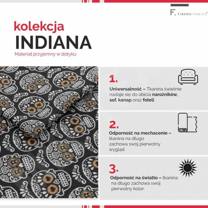 Kolekcja tkanin Indiana