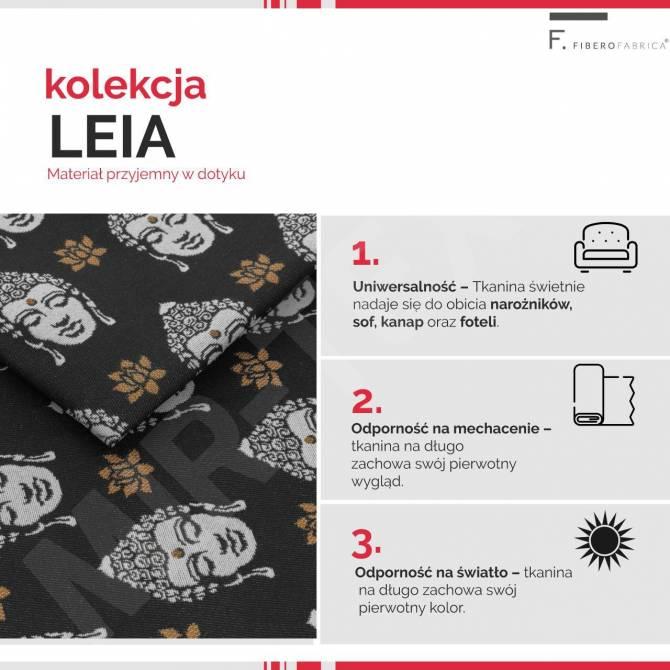 Kolekcja tkanin Leia