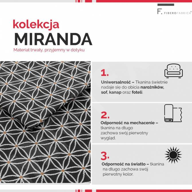 Kolekcja tkanin Miranda