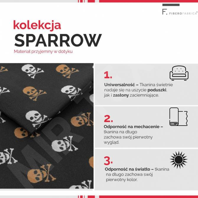 Kolekcja tkanin Sparrow