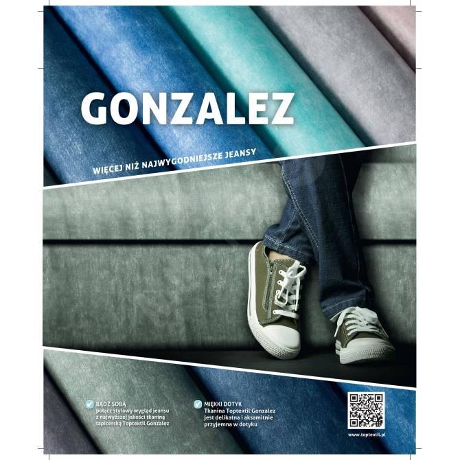 Kolekcja tkanin Gonzalez