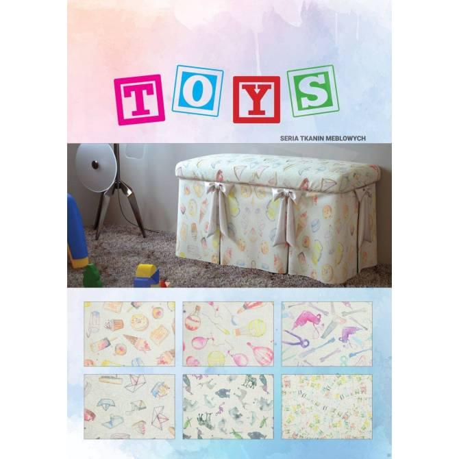 Kolekcja tkanin Toys